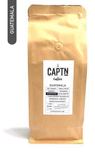 Guatemala Kaffee Gemahlen | 100 % Arabica Single Origin | 500 G | Direkt Gehandelt | Schonend Trommelgeröstet | Handverpackt | Filterkaffee | Premium Qualität | Ideal als Geschenk