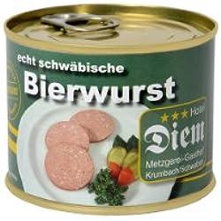 Diem Bierwurst Dose 200g