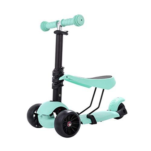 JHSHENGSHI Bicicleta sin Pedales de la, Triciclo para niños, 3 Ruedas, Triciclo de BEB...