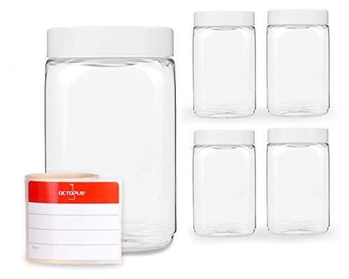 Vorratsglas Angenehme SüßE Antikel Riesiger Glasbehälter Glas