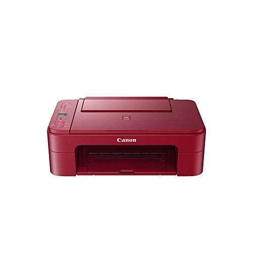 Canon PIXMA TS3352 Imprimante Multifonction Couleur avec écran LCD 8 cm 4800 x 1200 PPP Rouge