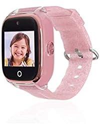 580f5a60d Reloj con GPS para NIÑOS Save Family Modelo Superior ACUÁTICO con Camara  Color Rosa Glitter