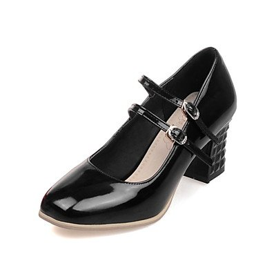 Mulheres Zormey Sapatos De Salto / Quadrados Saltos Altos B¨¹ro & Amp Carreira / Vestido Preto / Vermelho / Prata Us3.5 Eu33 Cn32 Uk1.5
