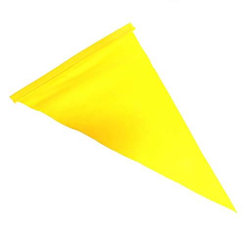 Otto-Harvest 1 Ersatz-Wimpel für Kinderfahrrad Sicherheitswimpel Fahne Wimpel Fähnchen Wimpelkette Flagge (GELB)