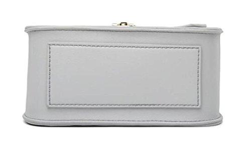 Borsa A Tracolla Da Donna Con Tracolla A Tracolla Moda Elegante Piccola Borsa Vintage Mini Borsa Nera Grey