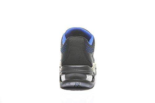 Elten Logan S1Chaussures de Sécurité avec parfaite Amortissement Bleu - Bleu