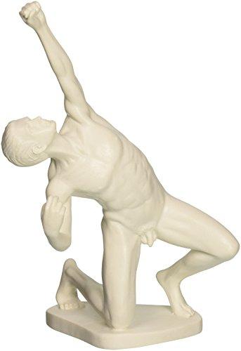 Design Toscano Bogenschützen-Akt, Marmor-Kunstharz-Figur