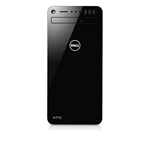 Dell XPS 8930 Unité centrale Noir (Intel Core i7, 16Go de RAM, Disque Dur 2To + SSD 256Go, NVIDIA GTX 1070Ti 8Go, Windows 10 Home)