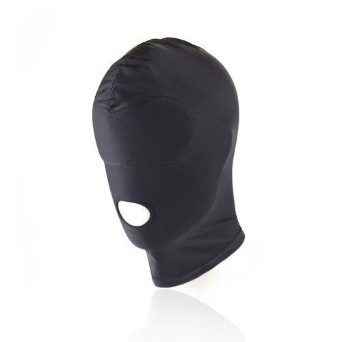 Kopfmaske SM Bondage-Maske 1 Loch Fetisch-Maske Spandex Stoffmaske BDSM
