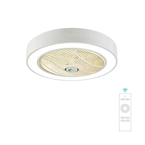 Lámpara empotrable moderna para ventilador de techo LED, luces de techo invisibles...