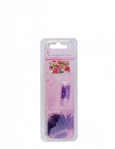 Airbrush per Nail Art Tips Design: Viola