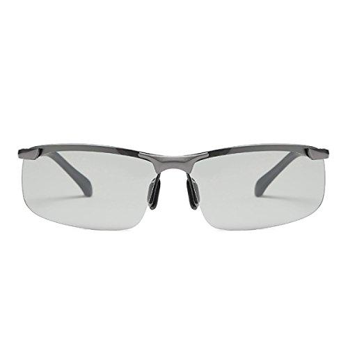 WKAIJC Farbe Polarisation Treiber Anti-UV Tag Und Nacht Mode Persönlichkeit Sonnenbrillen Sonnenbrillen
