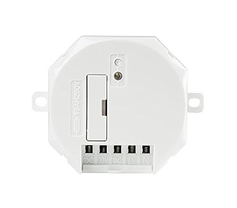 Trust Smart Home ASUN-650 Interrupteur de Commande de Volet Roulant pour Moteur Blanc