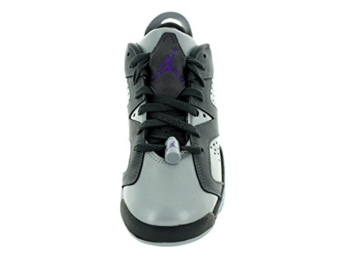 Nike Air Jordan 6 Retro Low Gg, Chaussures de Running Entrainement Fille, Taille Gris