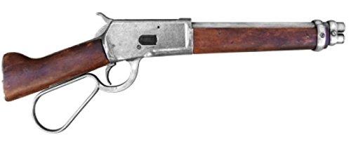 Kopfgeldjäger Kostüm Western - Denix Gewehr Winchester Mare's Leg USA 1892 - Spielzeugwaffe