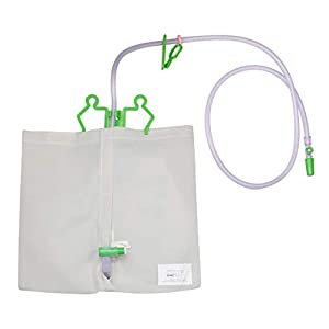Sichtschutz für 2000 ml Bettbeutel – Katheterbeutel – Urinbeutel – Waschbar