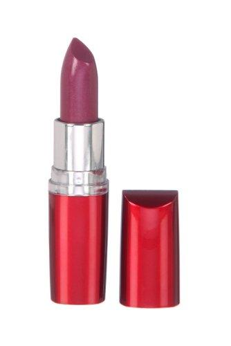 Maybelline New York Make-Up Lippenstift Moisture Extreme Lipstick Plum Sunrise Nr. 421 / Dunkles Violett mit melonigem Duft, 1 x 5 g (Violett Maybelline Lippenstift)