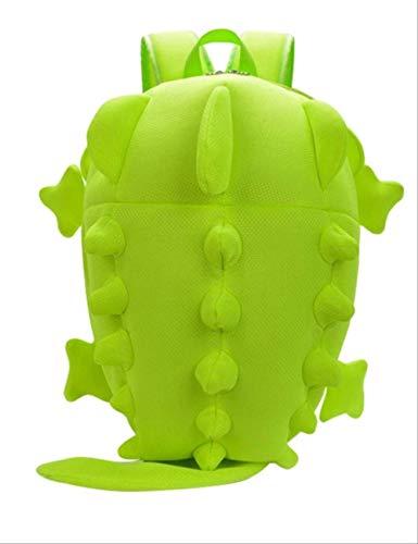 LINADEBAO Dinosaurier Rucksack für Frauen und männer Cartoon persönlichkeit Kawaii Monster Rucksack für schüler niedlich schultaschen Reisetasche fluoreszierend grün sm - 30 Pegasus Nike Frauen