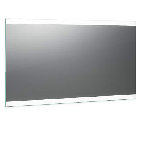 Spiegel ID Noemi 2020 Design: LED BADSPIEGEL mit Beleuchtung - Made in Germany - individuell nach Maß - Auswahl: (Breite) 100 cm x (Höhe) 70 cm