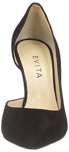 Evita ShoesPump - Scarpe con Tacco Donna Nero (Schwarz (schwarz 10))