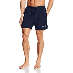BOSS Starfish, Short de bain Homme, Bleu (Navy 413), L