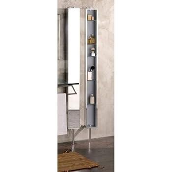 Croydex arun wc880222 spiegelschrank hochschrank mit for Drehschrank kuche