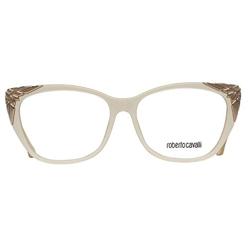 Roberto Cavalli Brillengestelle (Roberto Cavalli Damen Rc5008 025-55-15-135 Brillengestelle, Beige, 55)