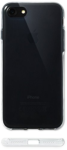 iPhone 8 Hülle Case | MOVOJA® TPU ULTRA-Thin | Fast unsichtbarer Schutz | Ultraleicht | Schutzhülle iPhone 8 - Silikon Crystal Case Transparent Durchsichtig für Apple i-phone-8 iphone8-thin Dünn