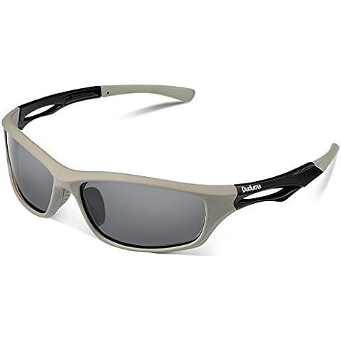 Duduma Sport Occhiali da Sole Polarizzati per Gli Uomini Ideale per lo Sci Golf Corsa Ciclismo TR90 Super Leggero per Gli Uomini e le Donne - Sport Outlet 24
