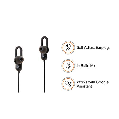 (Renewed) Just Launched: Mi Sports Bluetooth Wireless Earphones with Mic (Black) Image 5
