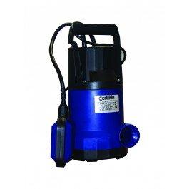Certikin SUB-1 Kunststoff-Tauchpumpe mit Schwimmerschalter - Kunststoff-Tauchpumpe mit 0,5 PS und 0,33 kW Motor. Die Stromstärke beträgt 3,5A. -