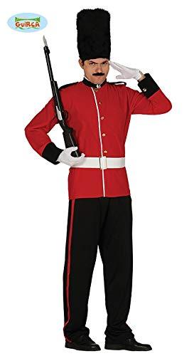 Englischer Soldat Palast Kostüm für Herren Militär Uniform Britisch Offizier Herrenkostüm Gr. M-L, ()