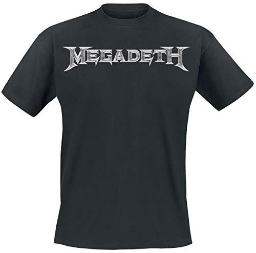 Megadeth Logo Camiseta Negro M
