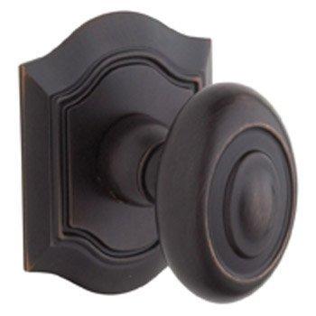 Bethpage Baldwin Hardware (Baldwin 5077112IDM Venetian Bronze Bethpage Half Dummy Knob with R027 Rose and Concealed Screws by Baldwin)