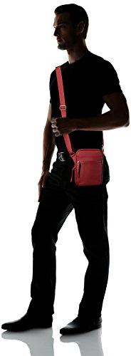 LacosteSac Homme Access Basic - Borsa a spalla Uomo Rosso (Biking Red)