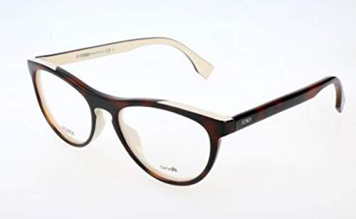 Fendi Damen FF 0123 MIY/17-51-17-140 Brillengestelle, Braun, 51
