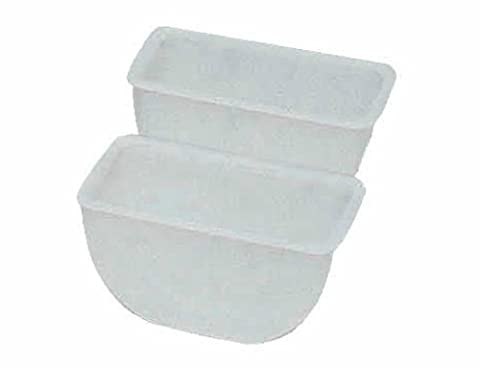 Update International (CD-INS) 1/2 qt Replacement Insert for Condiment Holders