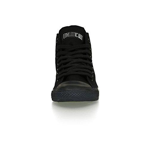 Ethletic Black Cap HiCut / High-Sneaker aus Bio-Baumwolle in schwarz – fair & nachhaltig - 6