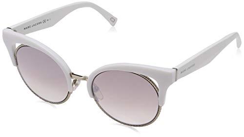 Marc Jacobs Damen Marc 215/S NQ VK6 51 Sonnenbrille, Weiß (White/Brown Sm SLV)