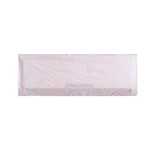 PEVA hängende Klimaanlage Staubschutz Brief wasserdicht schützende Wohnzimmer Schlafzimmer Home Decor Haushalt hängende Maschine Abdeckung - Pink
