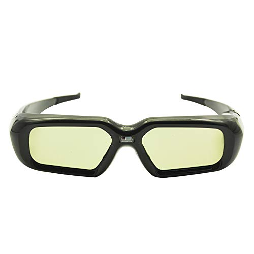 ZUZEN 2 STÜCKE Aktive Auslöser 3D Brille Universal Wiederaufladbare RF Bluetooth Für Sony Panasonic Sharp Toshiba Samsung Projektor TV