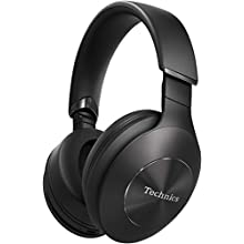 Technics EAH-F50BE-K Wireless Stereo Headphones with Bluetooth, Quick Charge & Built-in Mic