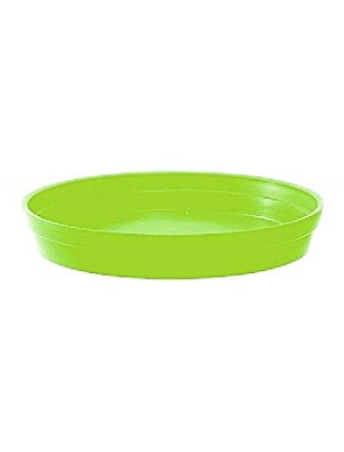 Soucoupe Vert Pistache pour Pot rond Toscane Ø 34,5 cm