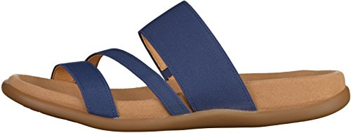 Gabor Shoes 23.702 Damen Peep-Toe Sandalen Dunkelblau
