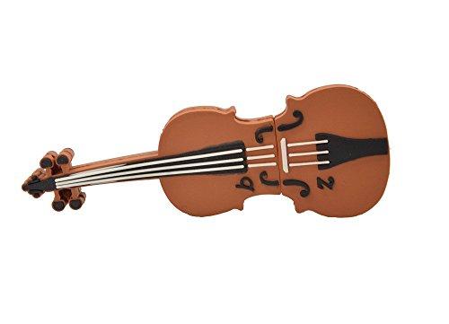 Febniscte violino 8gb usb2.0 flash di marrone pendrive