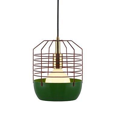 Art Glass Mini-anhänger (Moderne Kronleuchter Deckenleuchten Anhänger Spinnennetz Mini Art Glass Kronleuchter 1 Licht Einfach Zeitgenössisch Farbe Schwarz Weiß Grün Rot Kohlenstoffstahl-Kronleuchter 3C Ce Fcc Rohs für Schlaf)