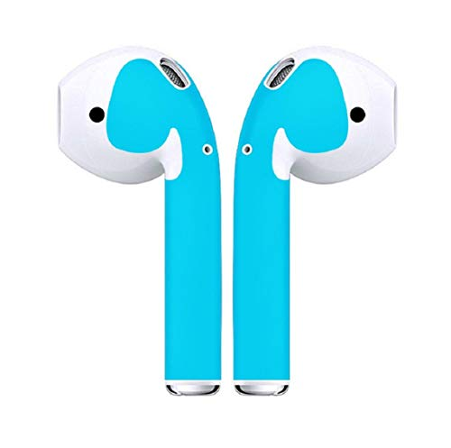 Koojawind Aufkleberset FüR Apple Airpods - Aufkleberset FüR Apple KopfhöRer - Dekorationsschutz SchutzhüLle In-Ear-OhrhöRer, SchutzhüLlen, Easy Install, 12 Farben - Apple Ohrhörer Farbe Für
