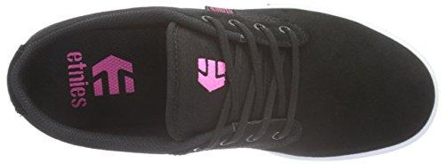 Etnies Damen Jameson 2 W's Skateboardschuhe Schwarz (BLACK/WHITE/PINK / 888)