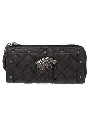 HBO Game of Thrones Stark L-Zip Wallet Standard