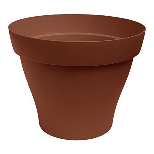ROMEO Pot rond pré-percé 50cm - Contenance 41l - Terre cuite